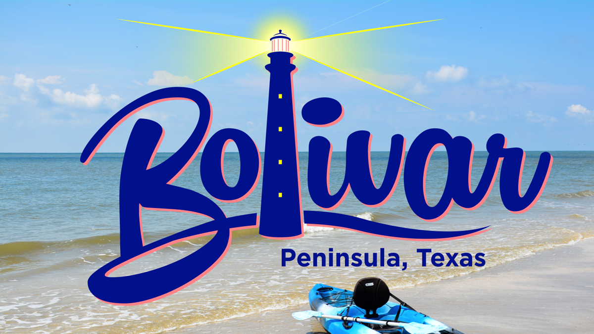New Logo To Build Tourism and Economic Growth For Bolivar Peninsula.