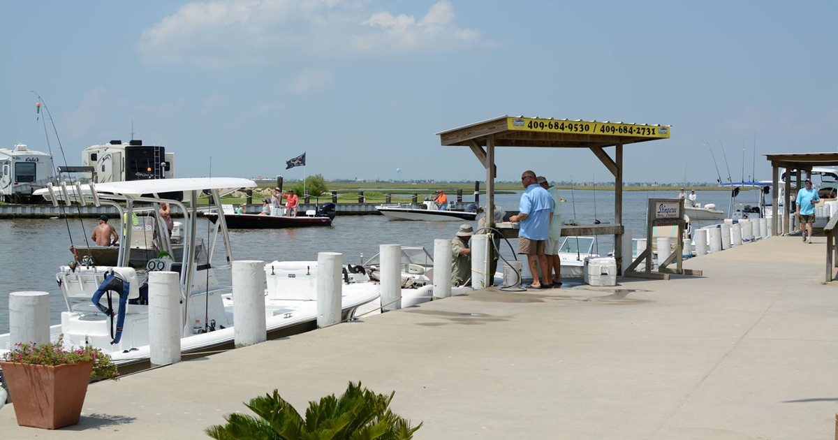 Marinas And Bait Camps Serving Crystal Beach Port Bolivar