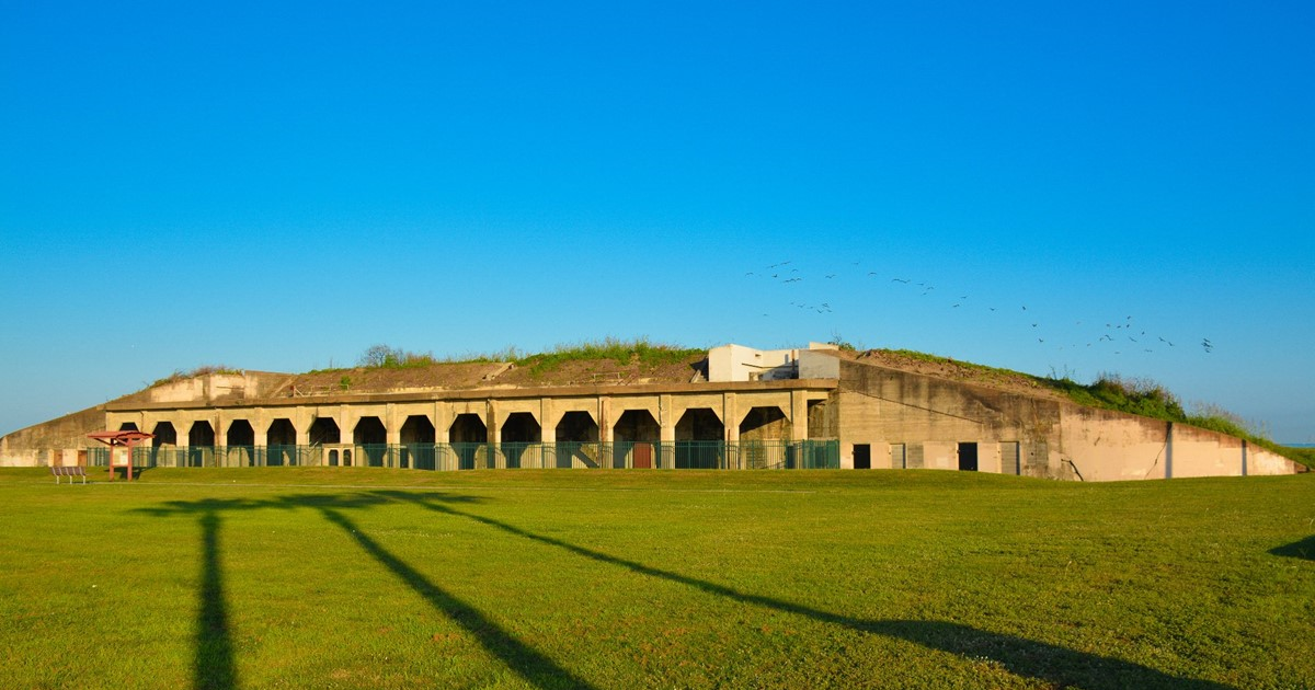The History Of Bolivar Peninsula From Its Fort Travis