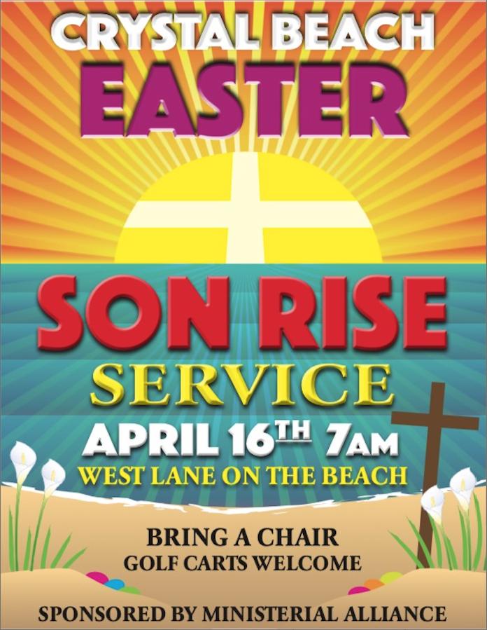 Easter Sunrise Service On The Beachfront