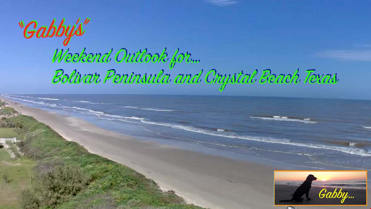 The Countdown To Memorial Day Weekend Has Begun, 3 Days Of Fun In The Sun on Bolivar Peninsula.