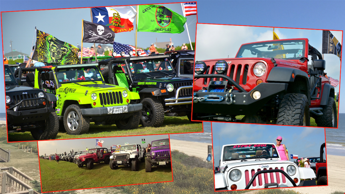 Crystal Beach Texas, A Jeep Lovers and Live Music Weekend Playground on Bolivar Peninsula.
