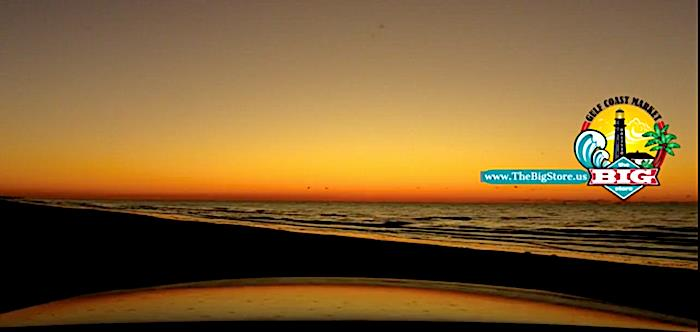A Bolivar Peninsula Painted Sky Sunrise On The Upper Texas Coast!