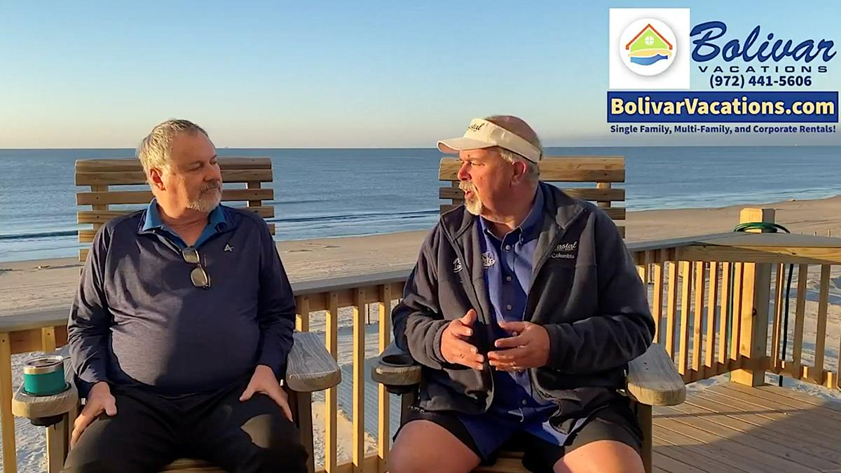 Bolivar LIVE Beachfront Talking Vacation Rentals