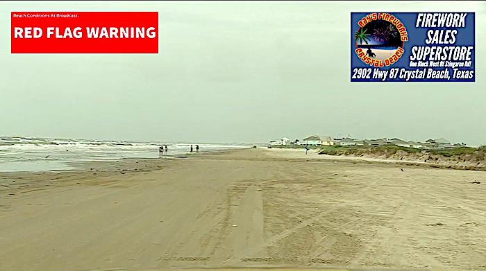 Breaking News From The Beachfront In Crystal Beach, Texas!