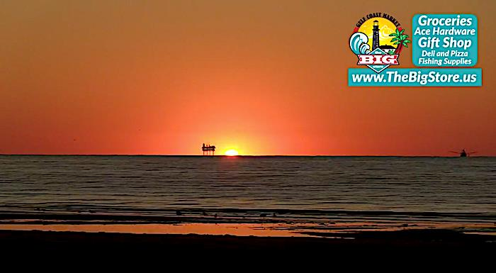 Enjoy A Painted Sky Sunrise This Weekend In Crystal Beach, Texas!
