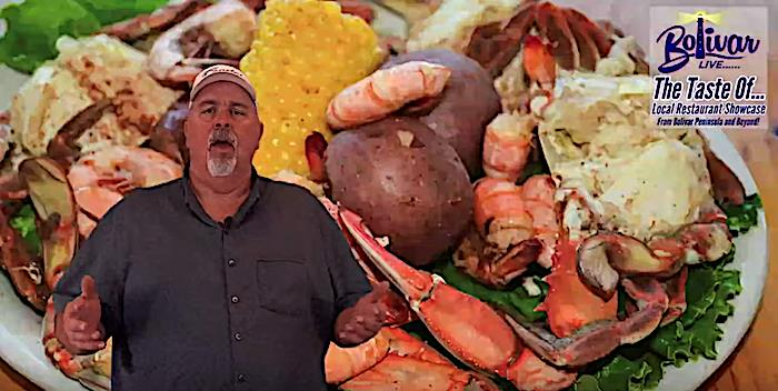 It's Bolivar LIVE, The Taste Of Restaurant and Oyster Platter Review In Crystal Beach Tx.