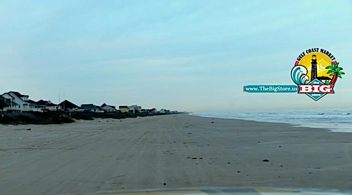 It's Tuesday Morning Beachfront In Crystal Beach, Texas With Bolivar LIVE!