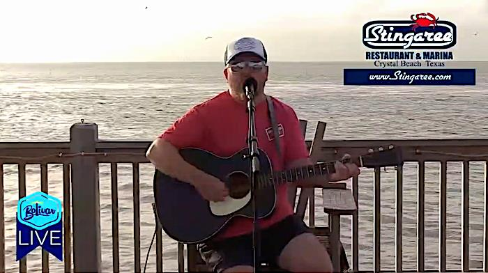 Jason Allen LIVE On Bolivar LIVE In Crystal Beach, Texas!