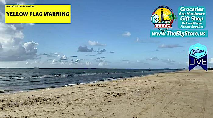 Kick Off Your Morning With A Bolivar Peninsula Beachfront View!