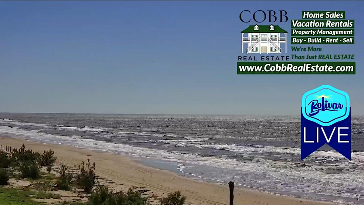 New Beachfront View Coming Soon, Caplin, Texas On Bolivar Peninsula