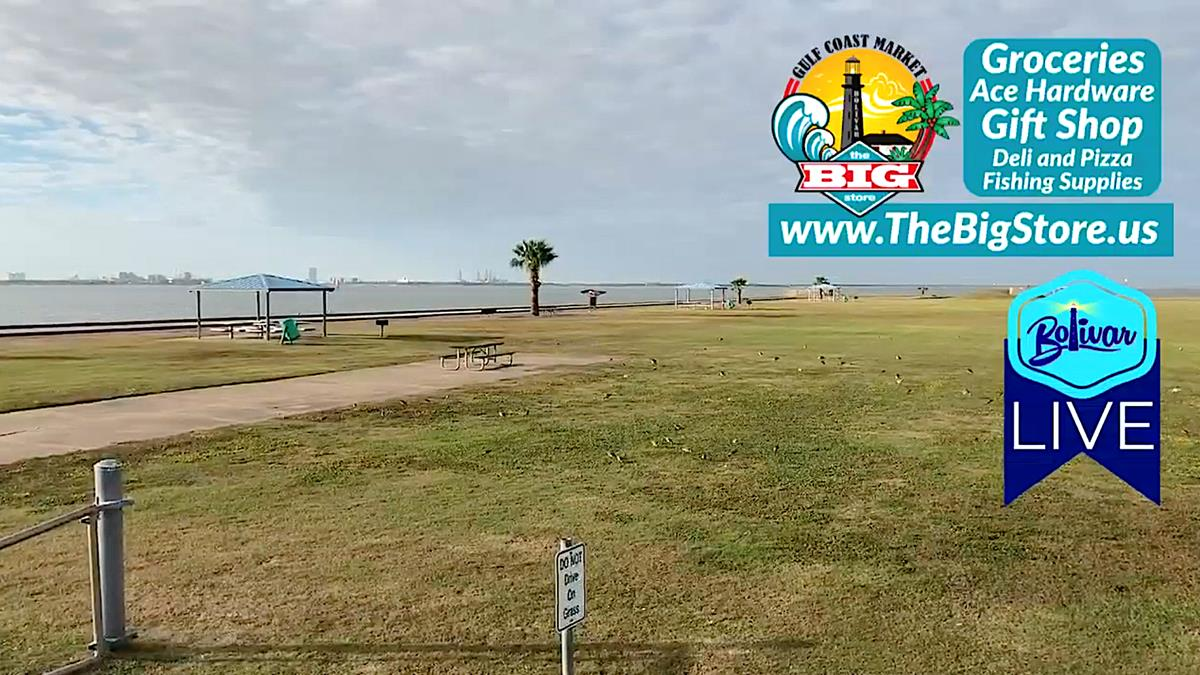 Social Distancing Thanksgiving Weekend On Bolivar Peninsula.