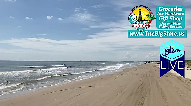 Sunny Skies In Paradise And Slick Surf In Crystal Beach, Texas!