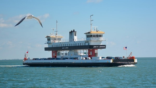 Take A FREE Trip Across The Bay and Houston Ship Channel