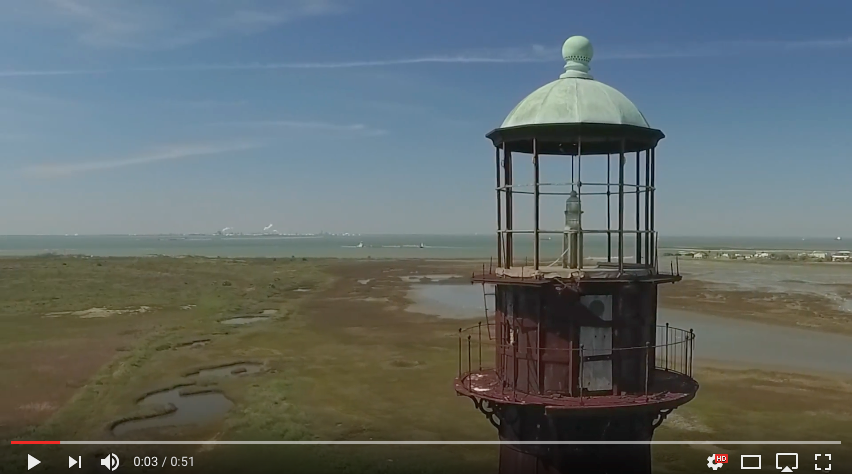 VIDEO: Bolivar Lighthouse 360 Degree View