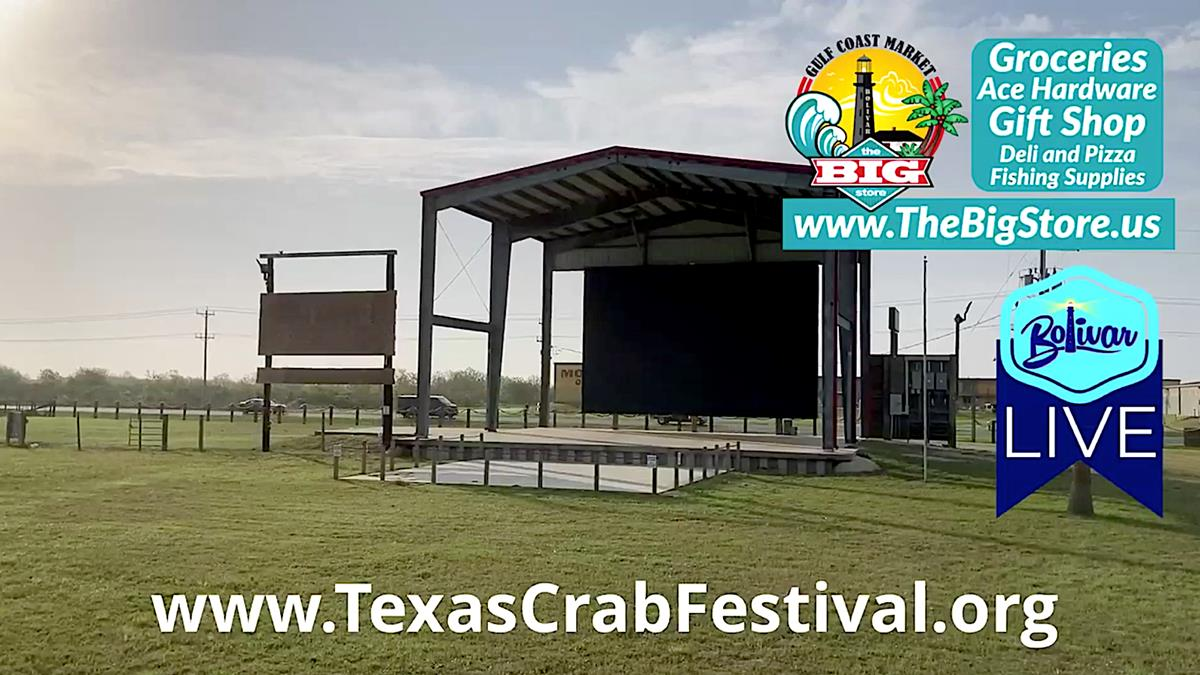 Winding Up For Texas Crab Festival 2021 Mothers Day Weekend.