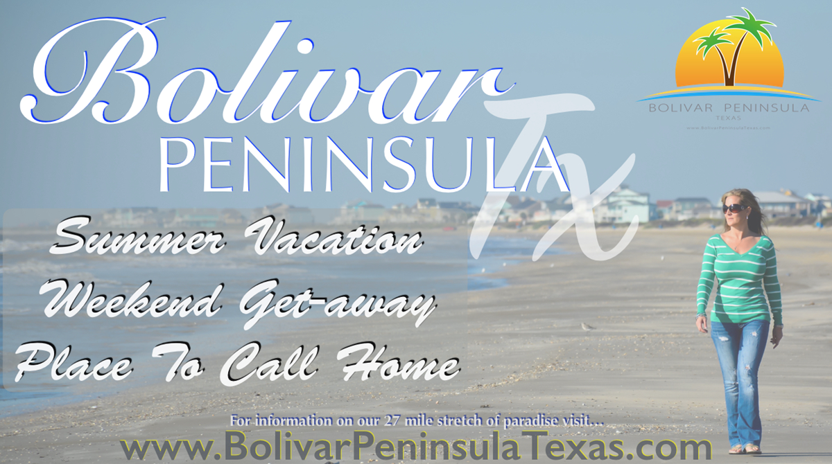 Crystal Beach, Texas And Bolivar Roll Out Clean Beaches All Summer For Vacationers And Visitors!