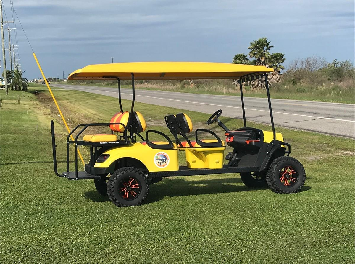Family Sized Golf Cart