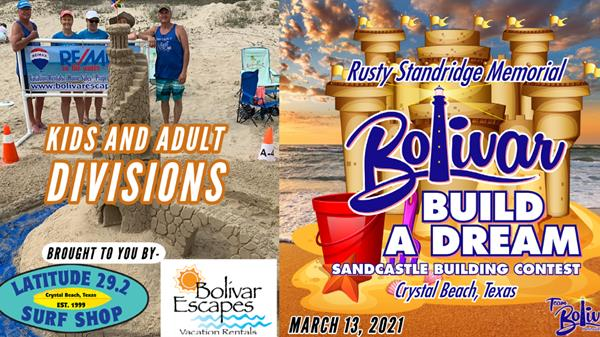 "<a href=""/Event-2021-3-13-Bolivar-Build-A-Dream-Sandcastle-Building-Contest"" itemprop=""url"">Bolivar Build A Dream Sandcastle Building Contest.</a>"