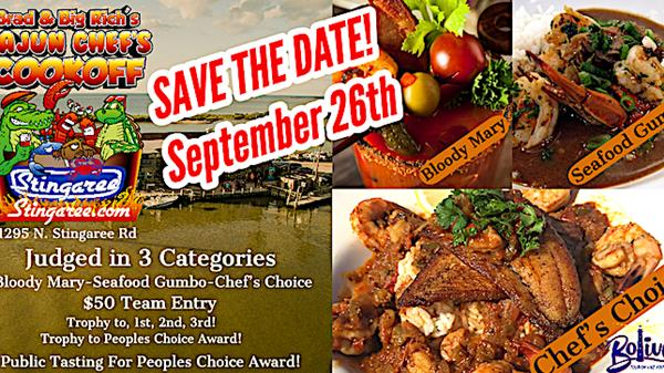 "<a href=""/Event-2020-9-26-Brad-And-Big-Richs-Cajun-Chefs-Cookoff"" itemprop=""url"">Brad and Big Rich's Cajun Chef's Cookoff</a>"