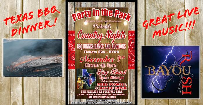 Country Nights BBQ Dinner, Live Music and Auction