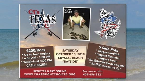 "<a href=""/Event-2018-10-13-Cts-Texas-Slam-Fishing-Tournament"" itemprop=""url"">CT's Texas Slam Fishing Tournament</a>"