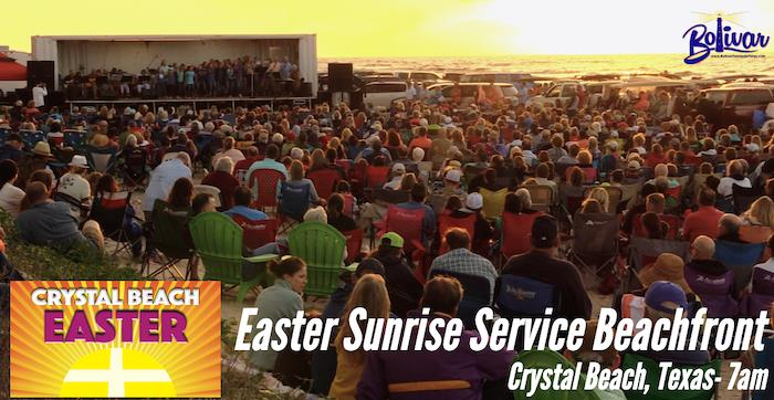 Easter Sunrise Service Crystal Beach Texas Online In 2020