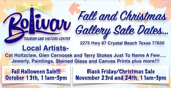 Fall Halloween Art Gallery Sale
