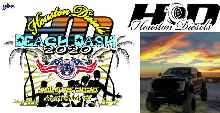 Houston Diesels Beach Bash 2020