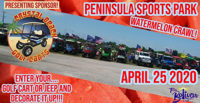 Peninsula Sports Park Watermelon Crawl - Cancelled