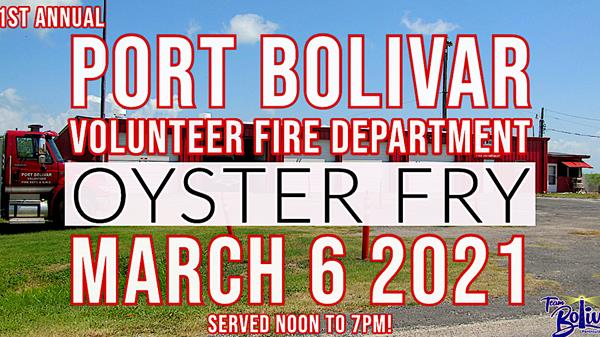 "<a href=""/Event-2021-3-6-Port-Bolivar-Volunteer-Fire-Department-51St-Annual-Oyster-Fry"" itemprop=""url"">Port Bolivar Volunteer Fire Department 51st Annual Oyster Fry</a>"