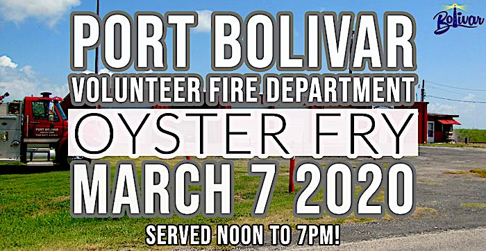 Port Bolivar Volunteer Fire Department Annual Oyster Fry