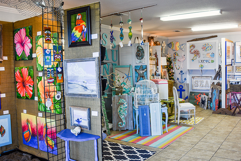 Gallery by the Gulf | Crystal Beach, Texas